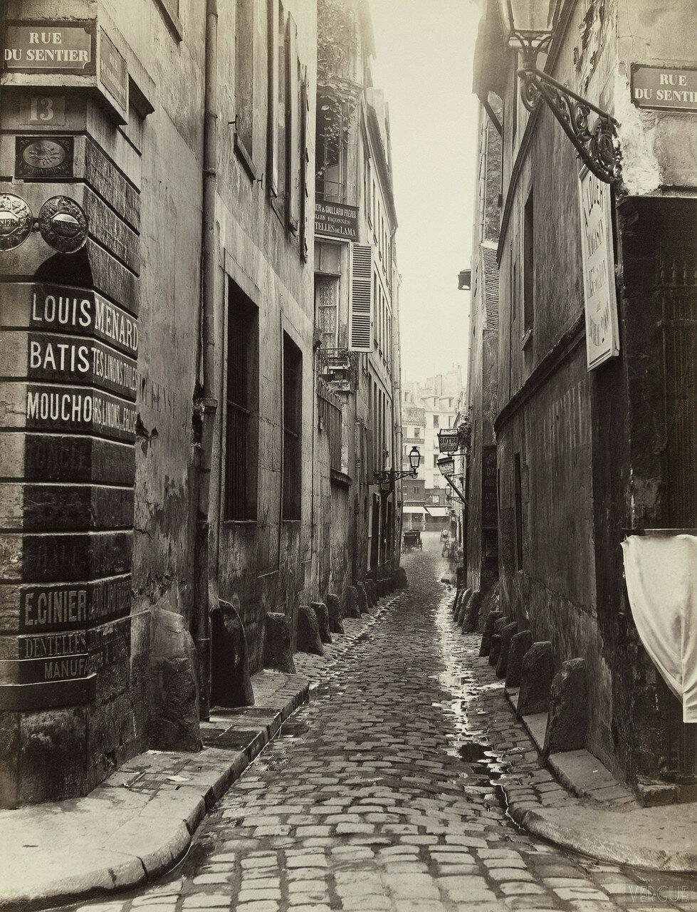 Улица Полумесяца. 1866