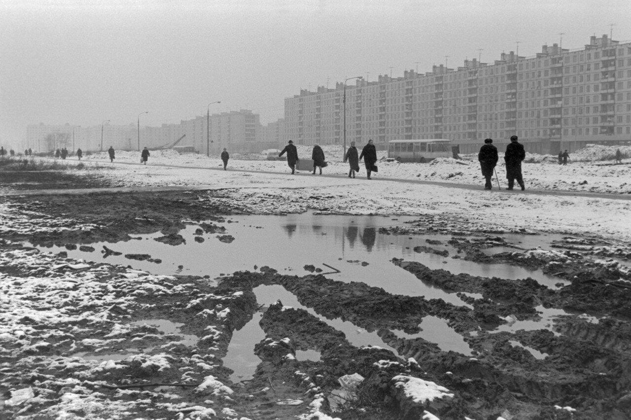 1972. Москва. Тушино,