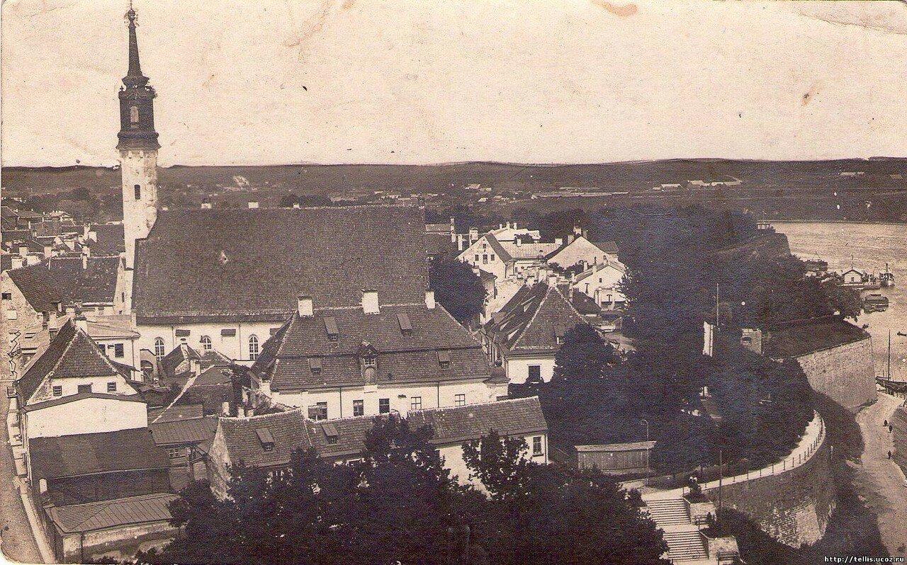 Панорама юго-восточной части Старого города