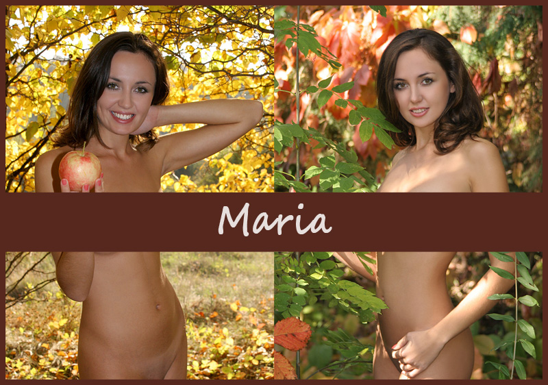 Украинская модель Maria (Kristi)