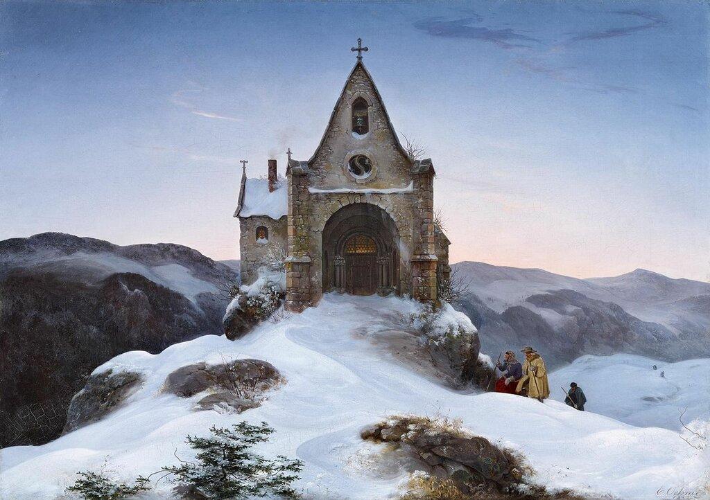 Ernst_Ferdinand_Oehme_-_Bergkapelle_im_Winter_(1842).jpg