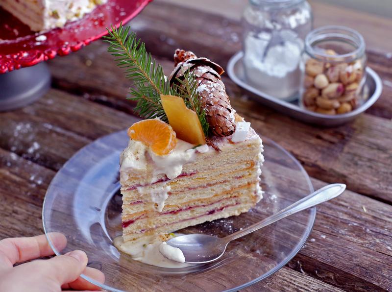 Сметанник - пошаговый рецепт вкусного торта с фото #3.