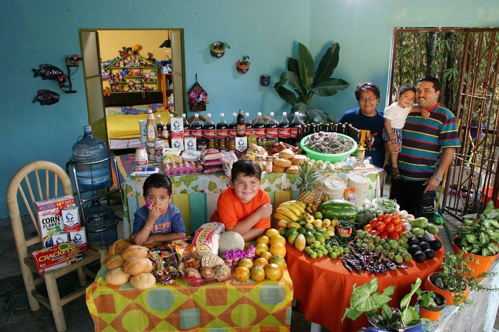 11 Мексиканская семья