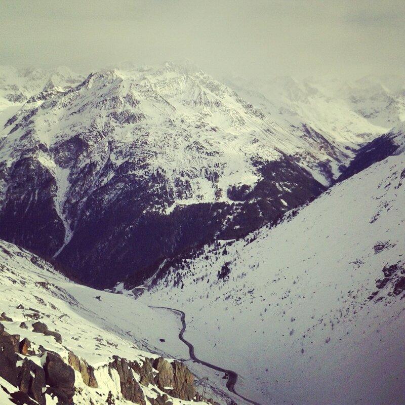 Та самая альпийская дорога...