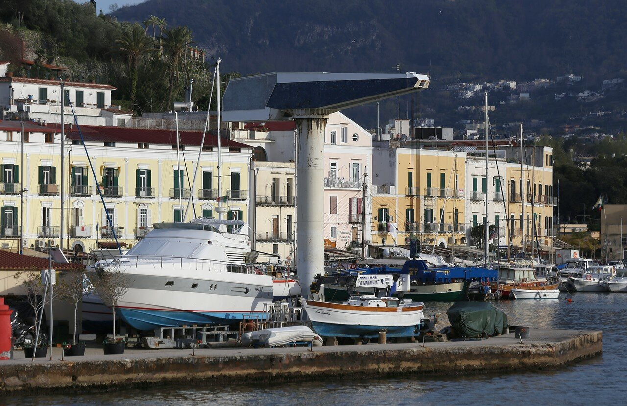 Port Of Ischia.