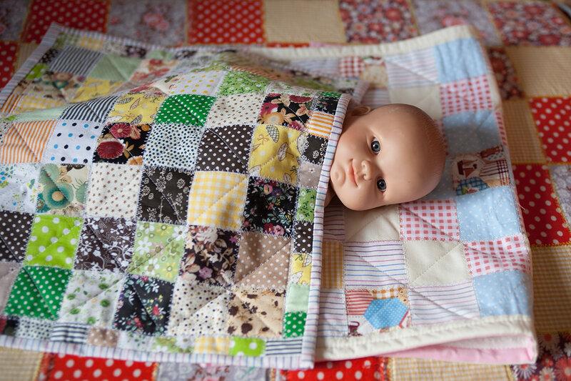 Лоскутное одеяло сшить пошаговое