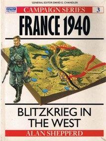 Книга Osprey Campaign №3. France 1940