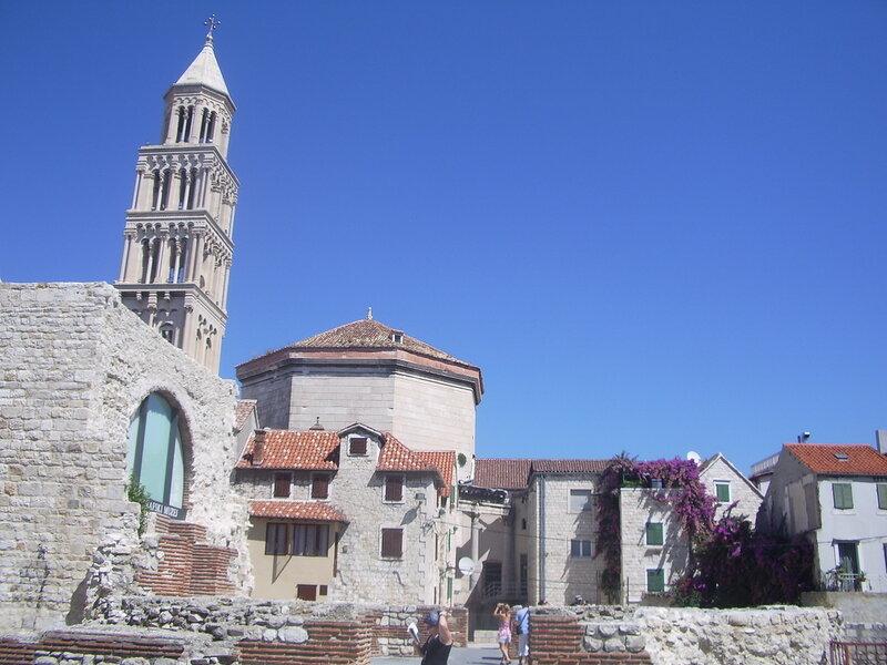Хорватия, Сплит - дворец Диоклетиана (Croatia, Split - Diocletian's Palace)