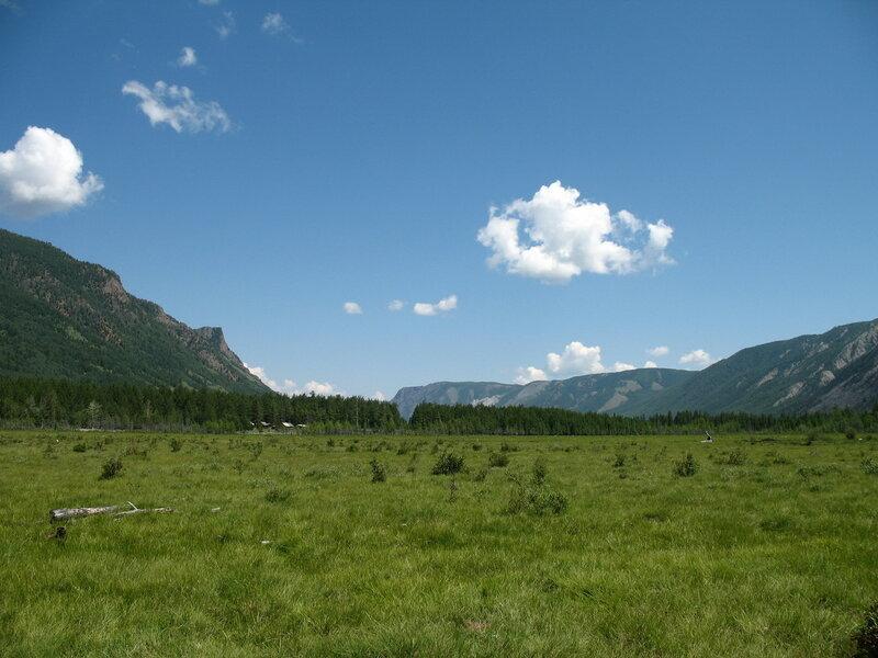 Саянский пейзаж