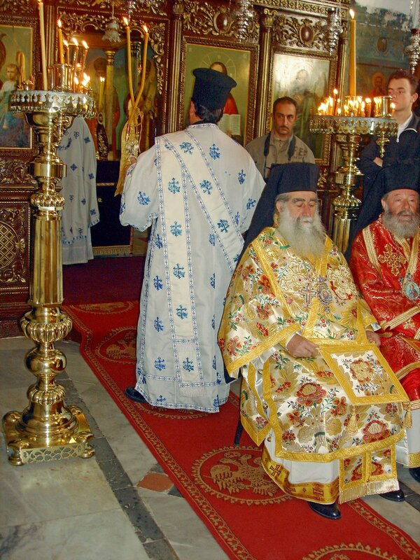 Катамон, Сретение у гробницы Симеона Богоприимца