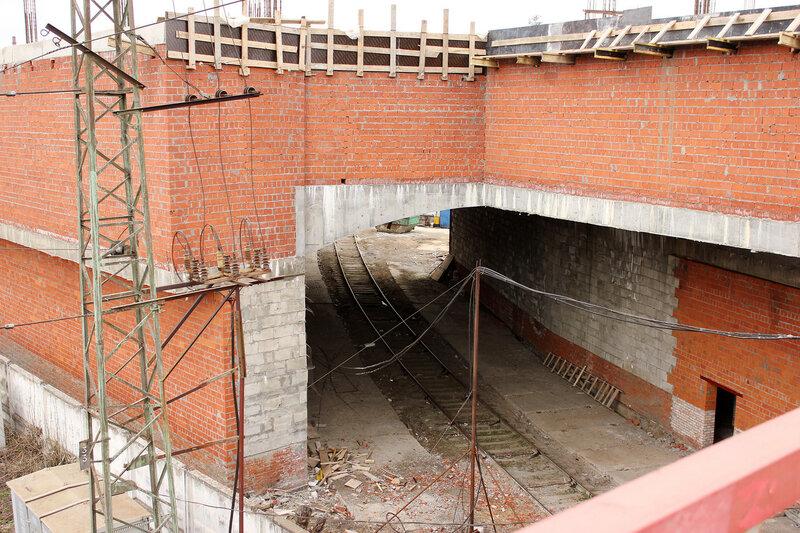 Туннель подъездного пути