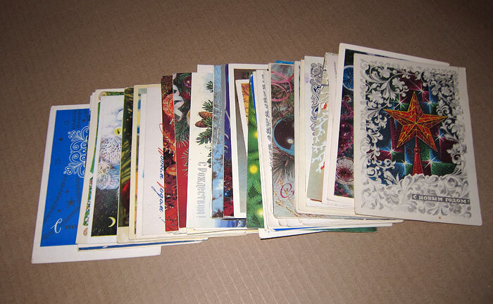 Картинки, моя коллекция почтовых открыток