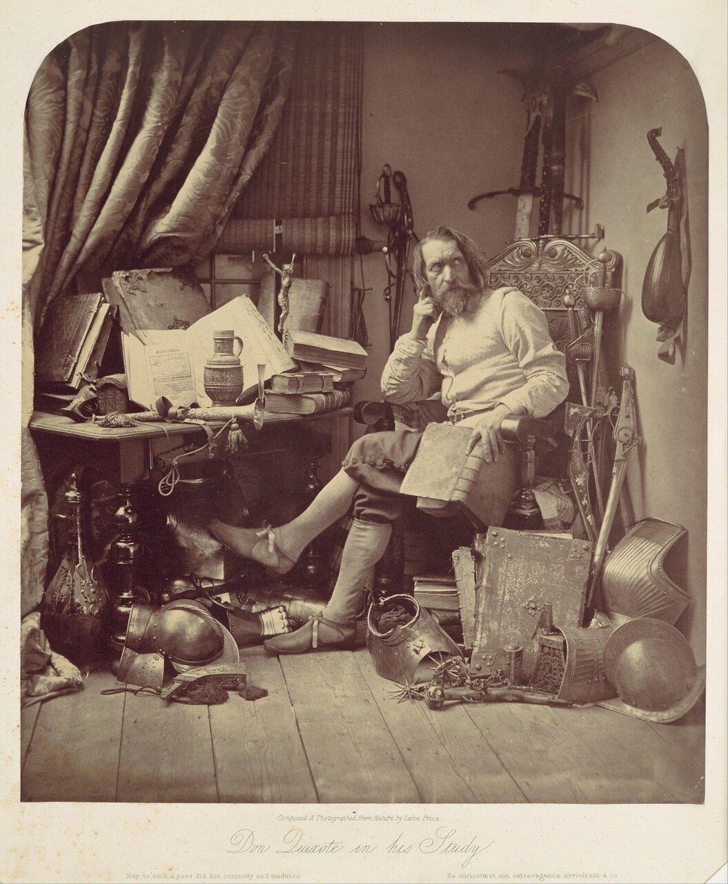 1857. Дон Кихот в своем кабинете