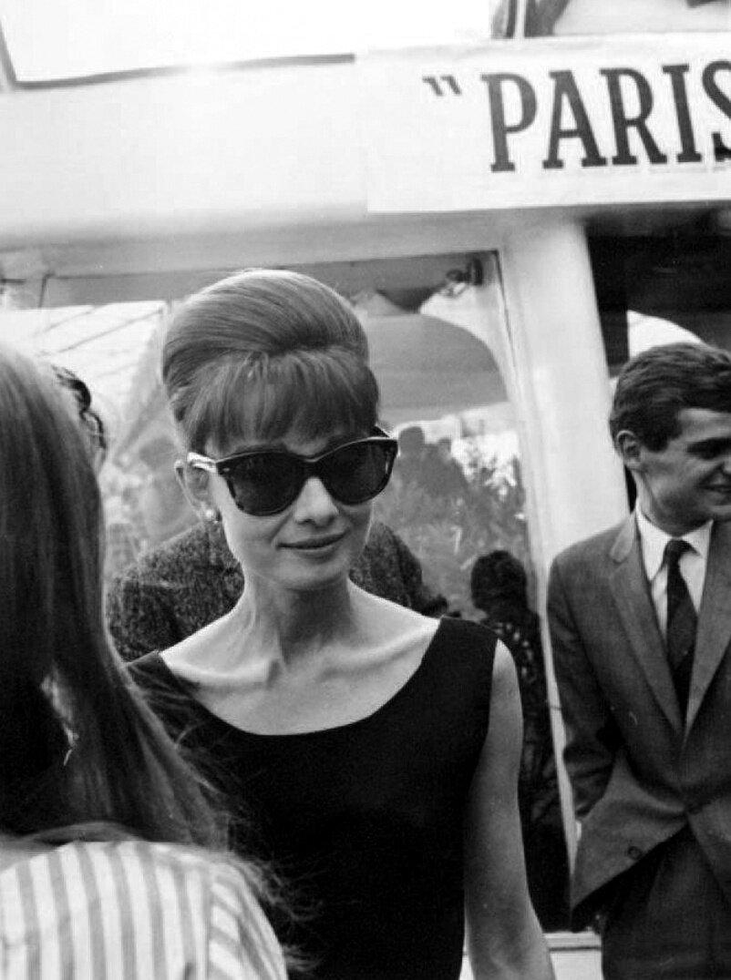 1962. Одри Хепбёрн, Париж