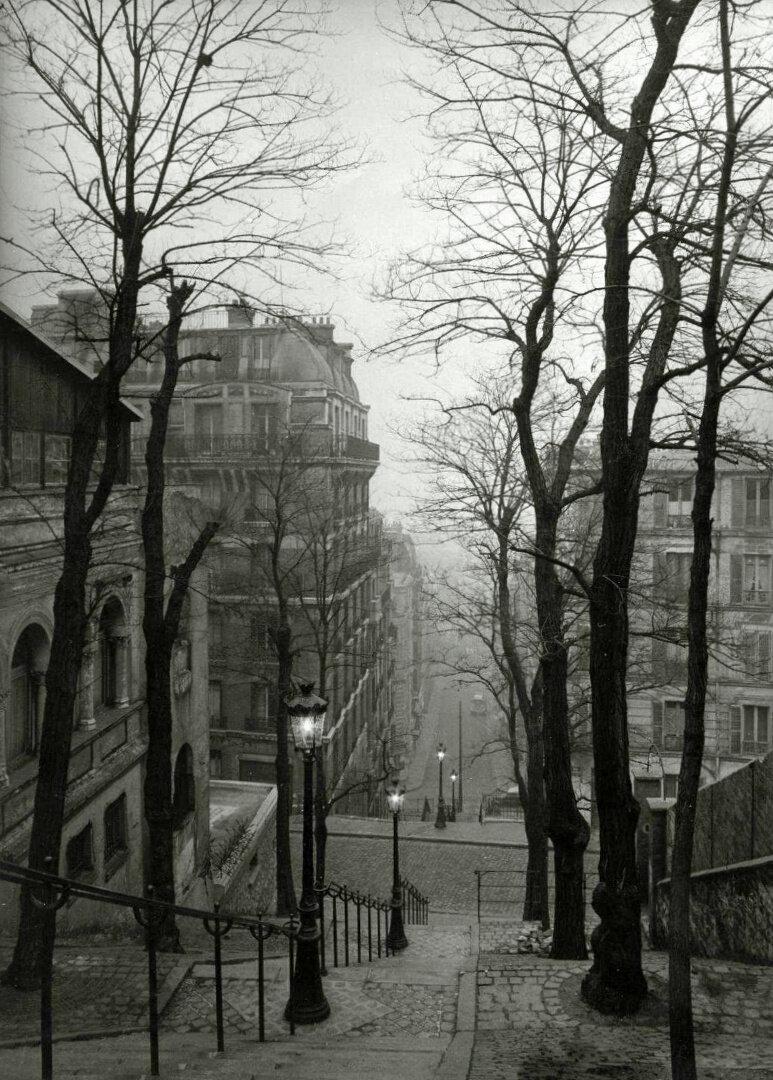 1950-е. Лестницы Монмартра