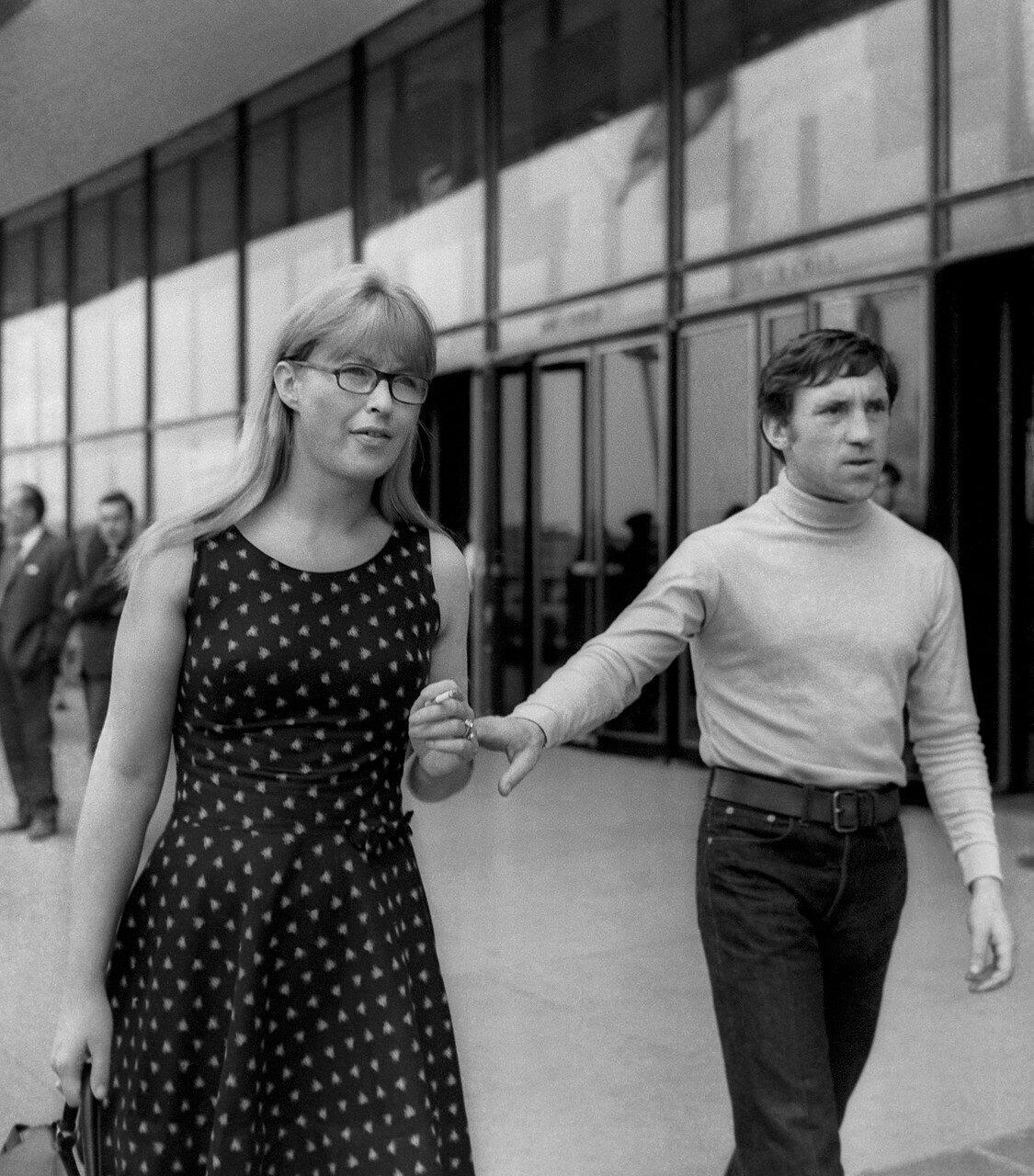 Владимир Высоцкий и Марина Влади, 1968 год