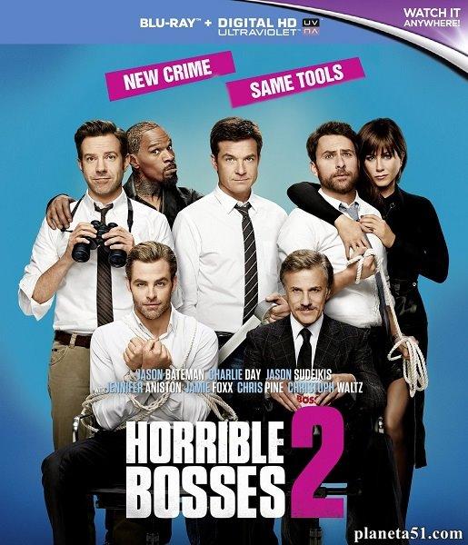 Несносные боссы 2 / Horrible Bosses 2 (2014/BDRip/HDRip)