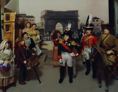 Вход русских войск в Париж. Авторские куклы