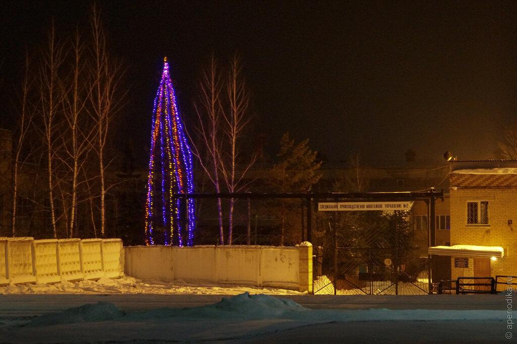 Ледовый городок на машзаводе