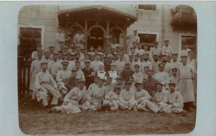 Фотографии немецких солдат времен Первой мировой войны