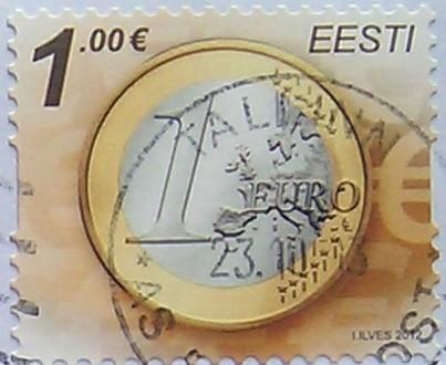 эстония 2012 евро 1.00