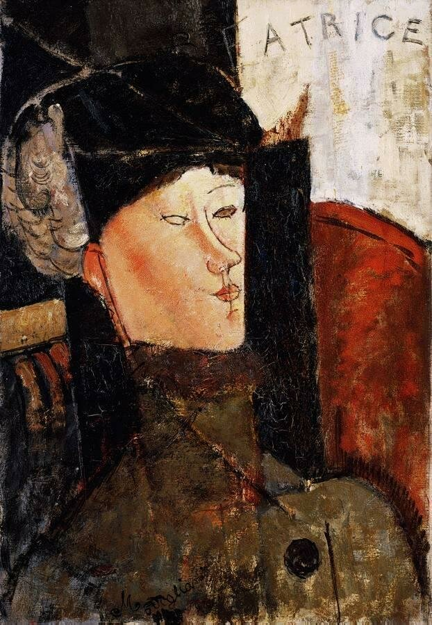 Portrait of Beatrice Hastings - 1916 - The Barnes Foundation - Painting - oil on canvas.jpeg