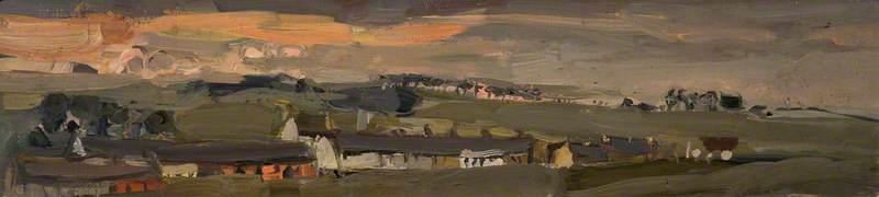 Village, Evening, Catterline