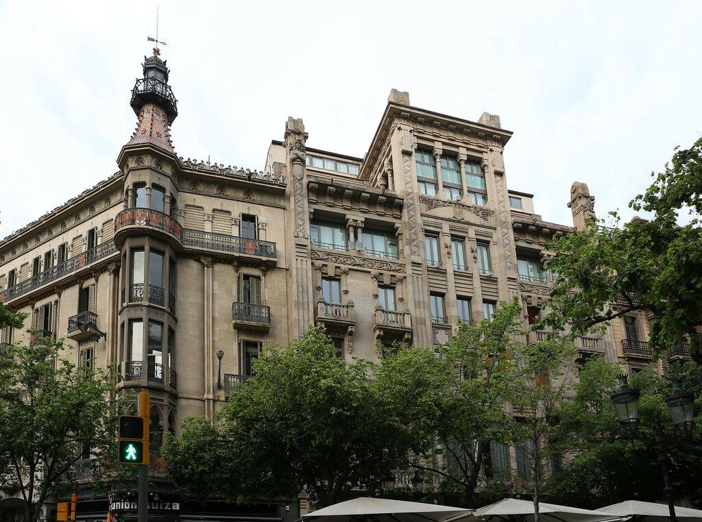 Barcelona. Casa Heribert Pons
