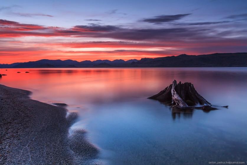 Самое красивое озеро Монголии в объективе Антона Петруся