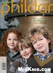 Журнал Phildar Pitchoun  №56 2011