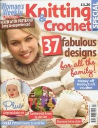 Журнал Womans Weekly Knitting & Crochet special №9 2007