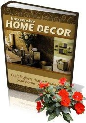Книга Inexpensive Home Decor (Недорогой декор дома)