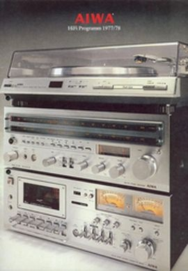 Книга AIWA Hi-Fi Programm 1977/1978