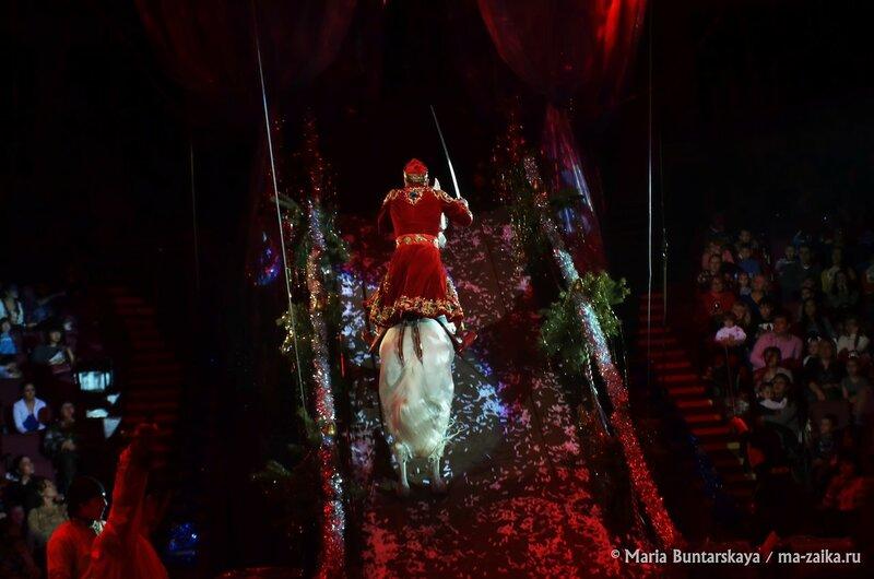 Новогодняя сказка, цирк им.Братьев Никитиных, 20 декабря 2015 года