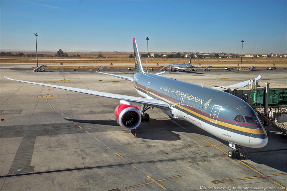 В аэропорту Аммана
