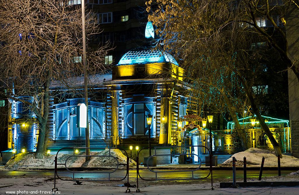 Фото 20. Ночью в Екатеринбурге. Фотографировал на Nikon D5100 KIT 18-55 VR в формате NEF, поэтому при обработке проработал темные места и исправил баланс белого, убрал шумы. 100, 45 (67), 8, 3