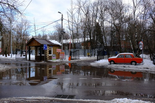 Въезд на ул Кренкеля