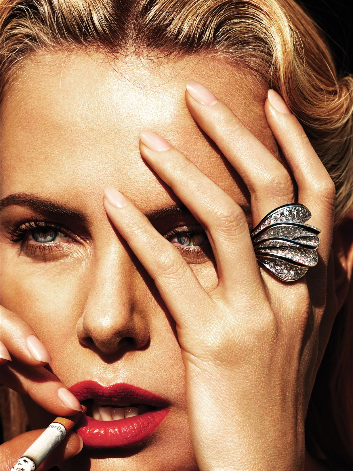 Звезда нового -Безумного Макса- Шарлиз Терон / Charlize Theron by Mert Alas and Marcus Piggott in W Magazine may 2015