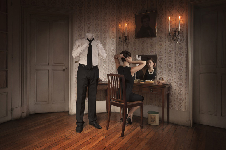 Обыкновенная жизнь человека-невидимки / La vie ordinaire d'un homme invisible by Malo