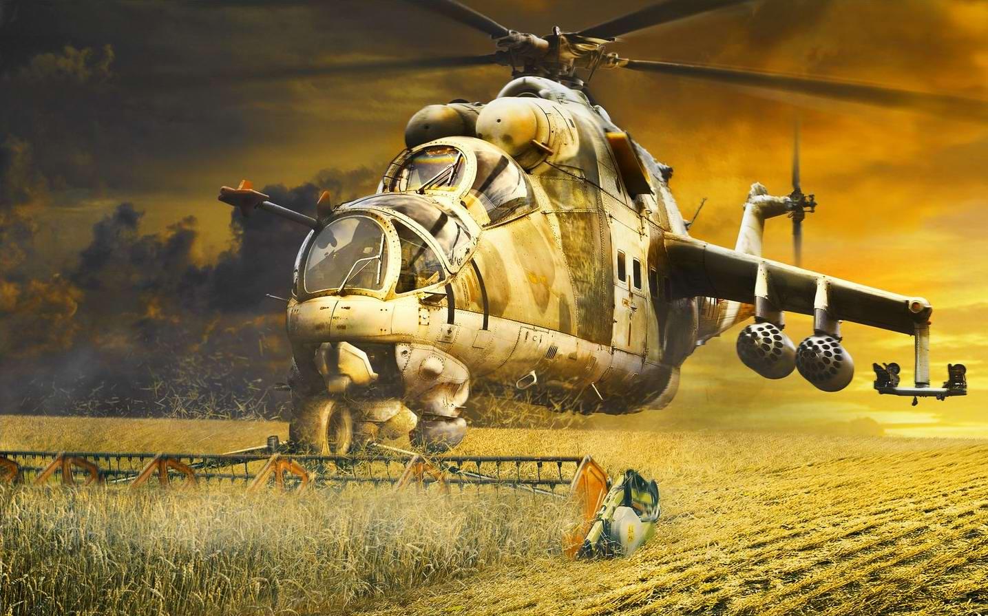 Вертолеты Ми-24: советские комбайны с вертикальным взлетом (3)