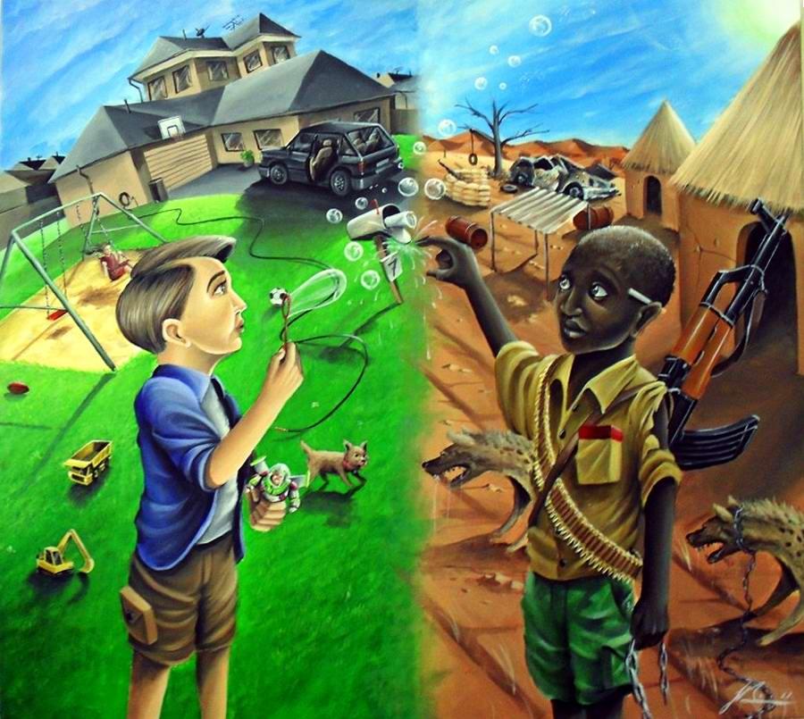Весь мир бардак: социальный арт бывшего австралийского уголовника - художник Joseph Boin (1)