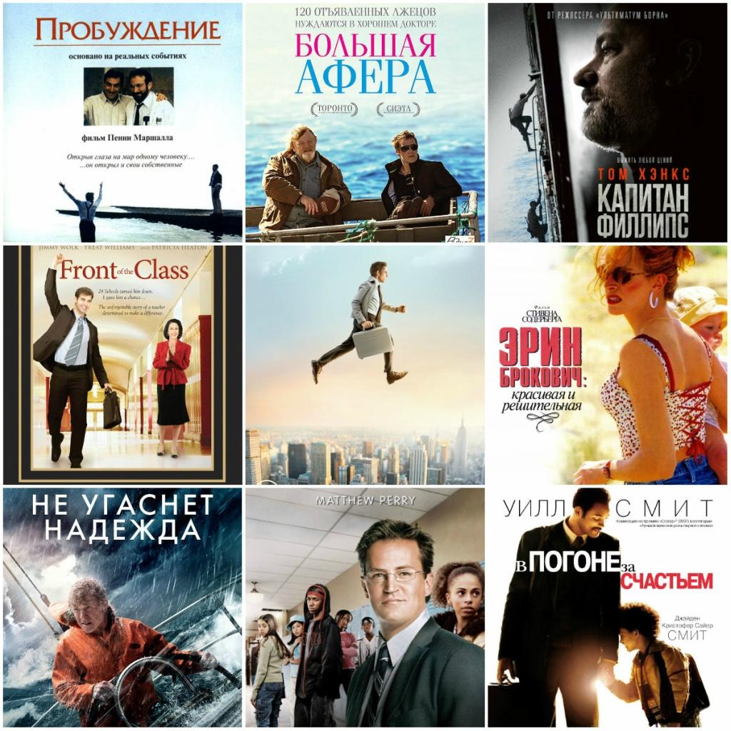 13 мотивирующих фильмов об упорстве, труде, воле к жизни и победе