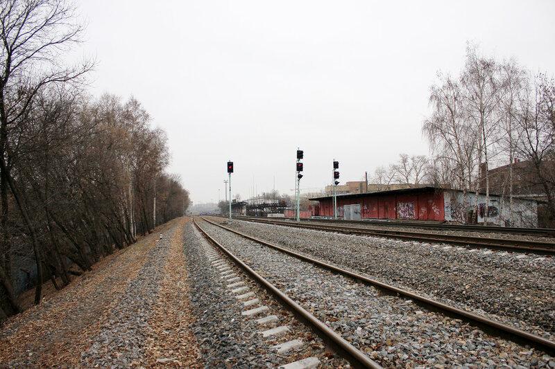 Чётные входные по станции Ростокино