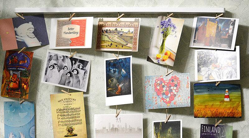 Альбомы для хранения открыток посткроссинг