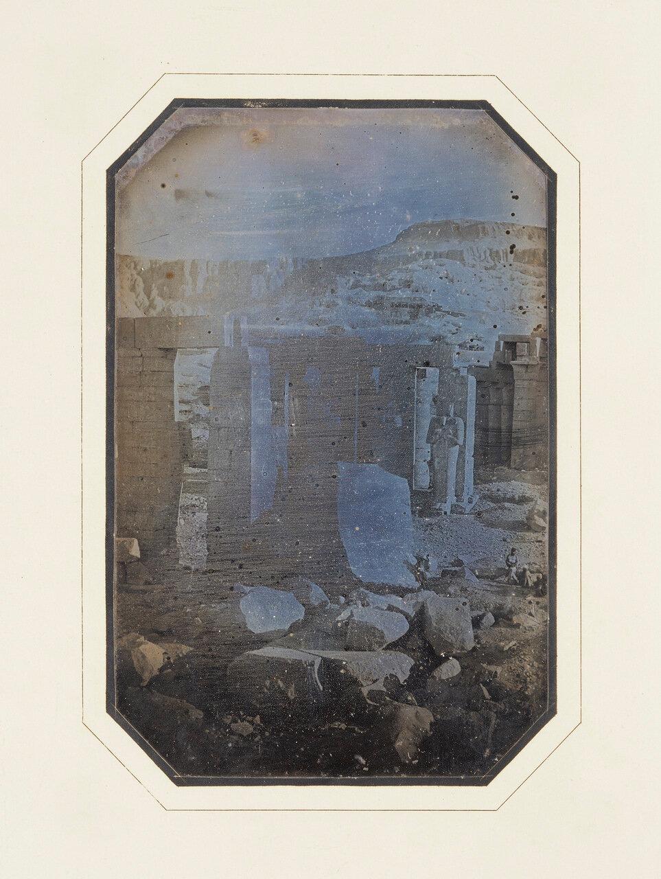 1848. Фивы. Рамессеум
