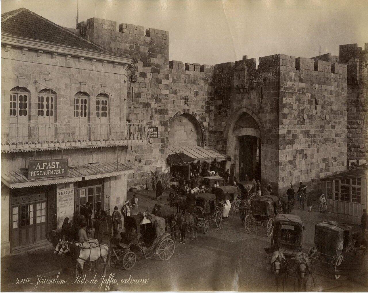 Иерусалим. За пределами Яффских ворот