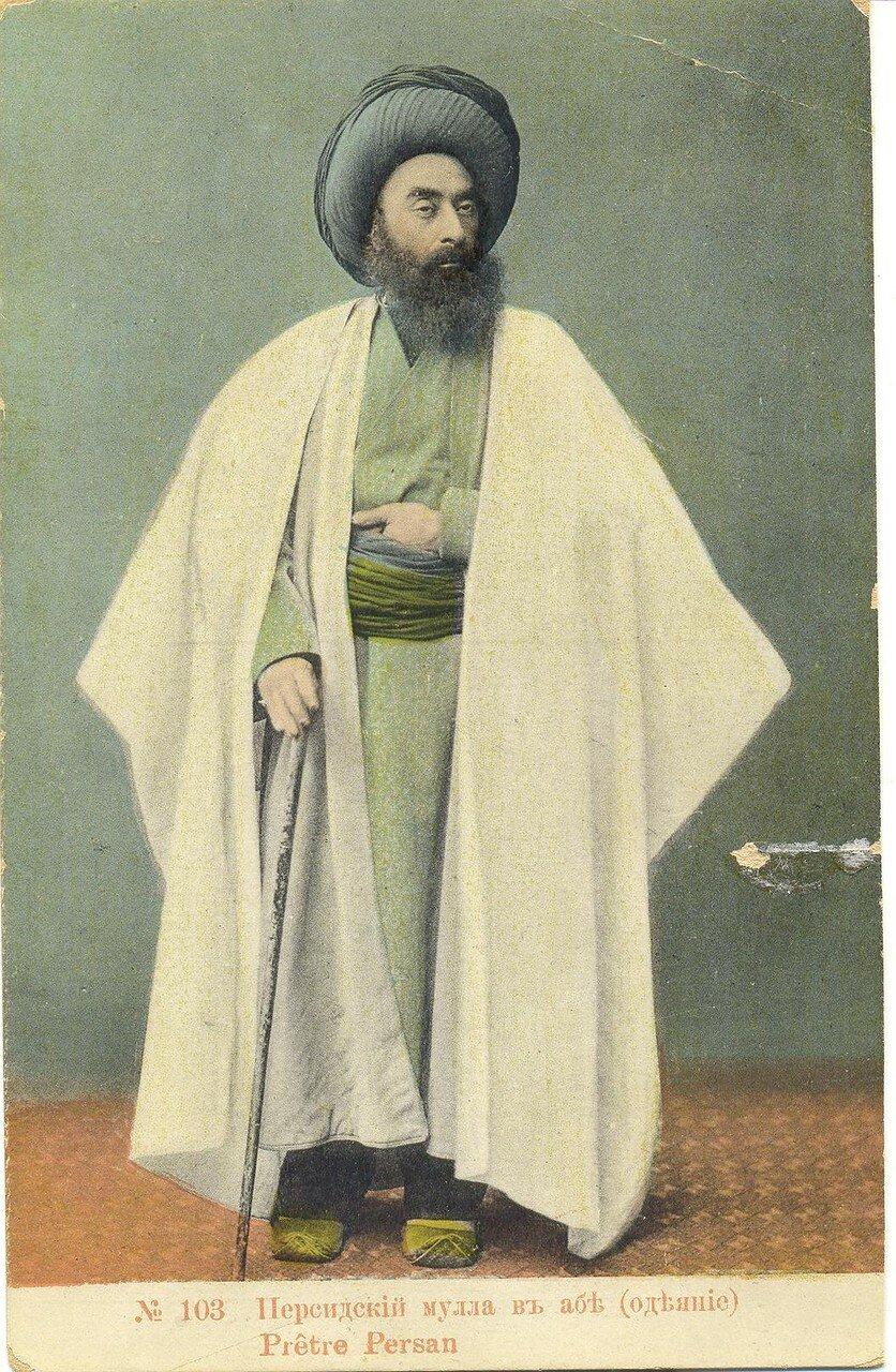 Персидский мулла в абе