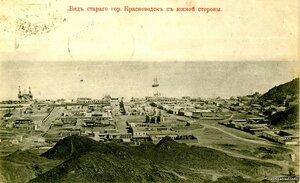 Вид старого Красноводска с южной стороны