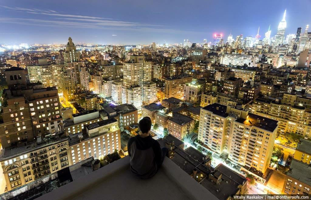 город вид с крыши фото мнение