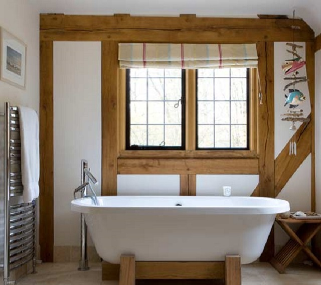 Modern country style bathrooms